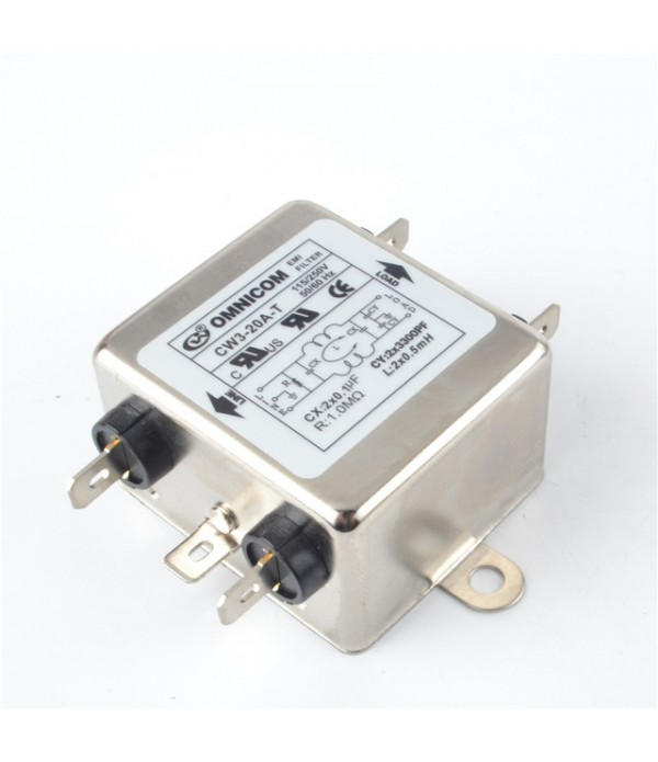 20A Single Phase Power EMI Filter