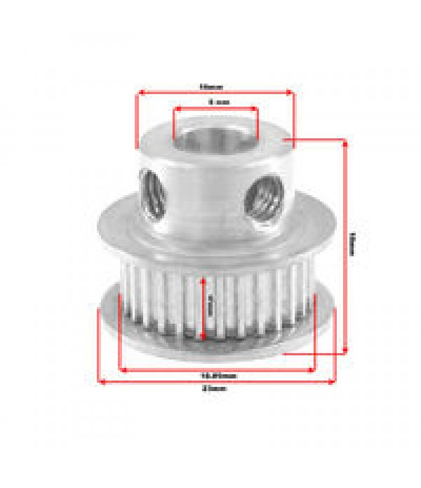 GT2 30T PULLEY