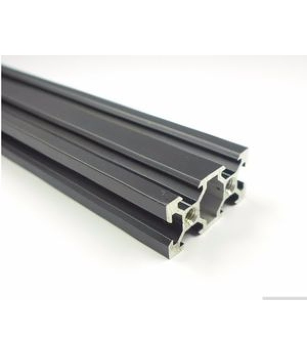 Black 2040 V-Slot Aluminum Profile Extrusion Frame...