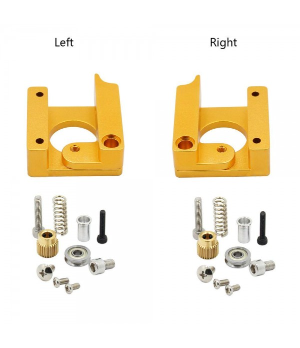 MK8-GOLDEN EXTRUDER-left arm