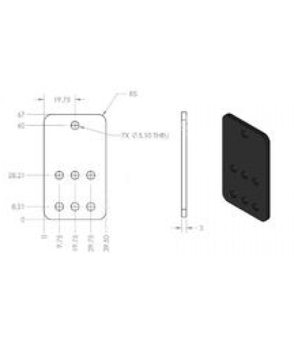 3D PRINTER NEMA 17 BRACKET
