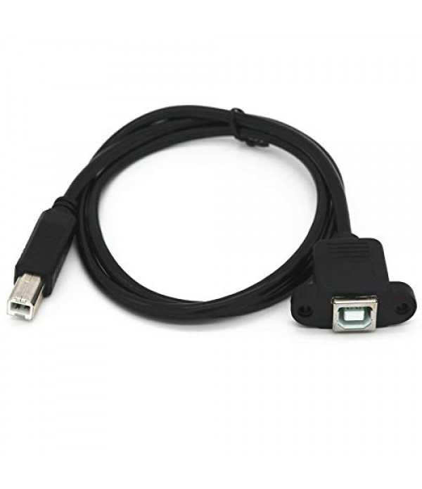 USB 2.0 Type B Male to Female 2000MM
