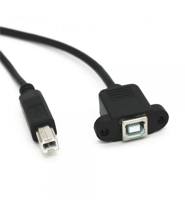 USB 2.0 Type B Male to Female 1000MM