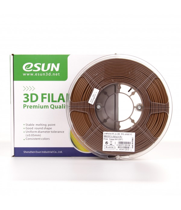 ESUN PLA + FILAMENT (BROWN) 1.75