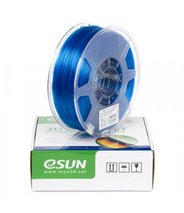 eSun PLA+ FILAMENT (GLASS BLUE)