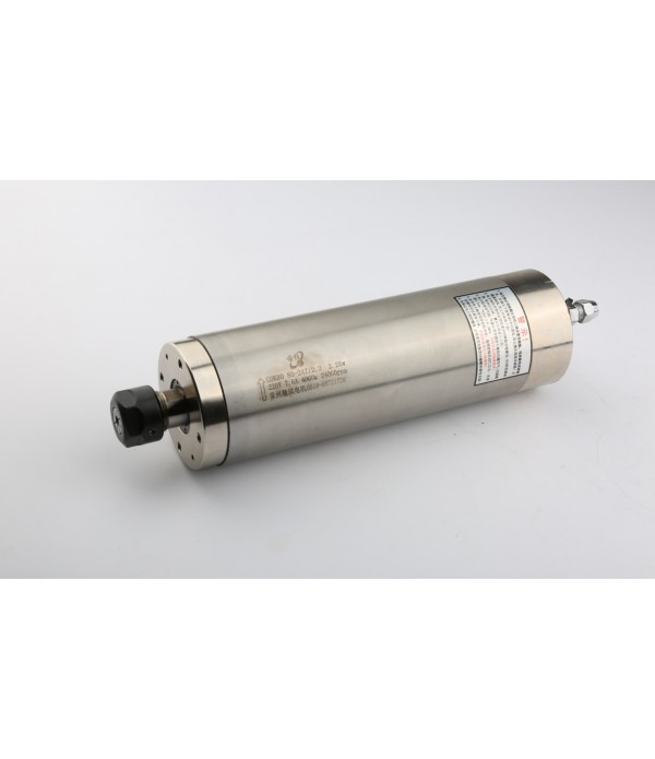 2.2KW 80mm HQD 380V Water Cooling Spindle